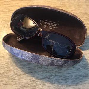 Coach Prescription Sunglasses S2009 Burgundy